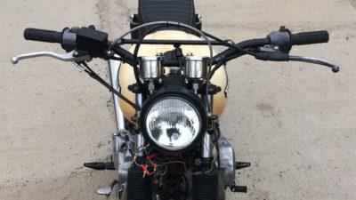 Aerografia serbatoio moto – Cafè Race