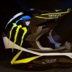 Aerografia casco - Monster