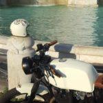 aerografia moto cafe race